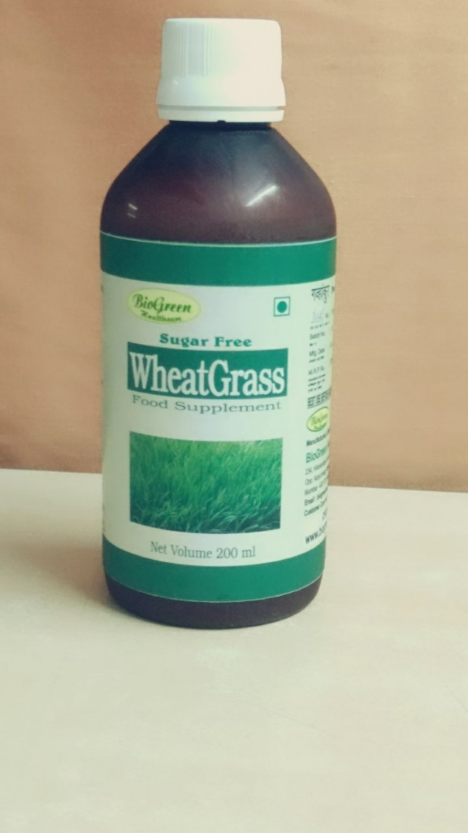Wheat Grass Juice In Panna